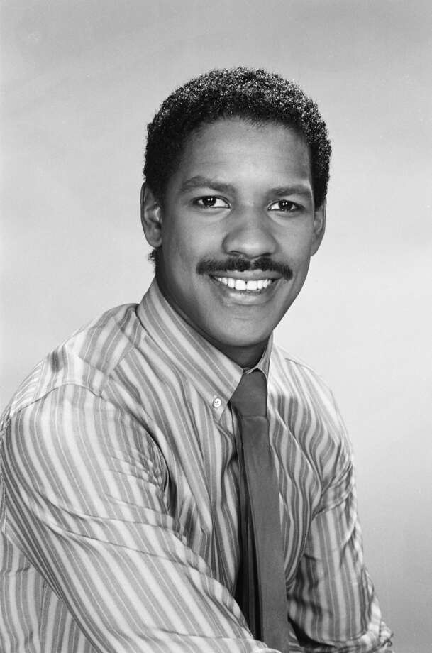 Paging the 'stache... it's Denzel Washington in the '80s, from his breakout role as dr. Phillip Chandler in ''St. Elsewhere.''