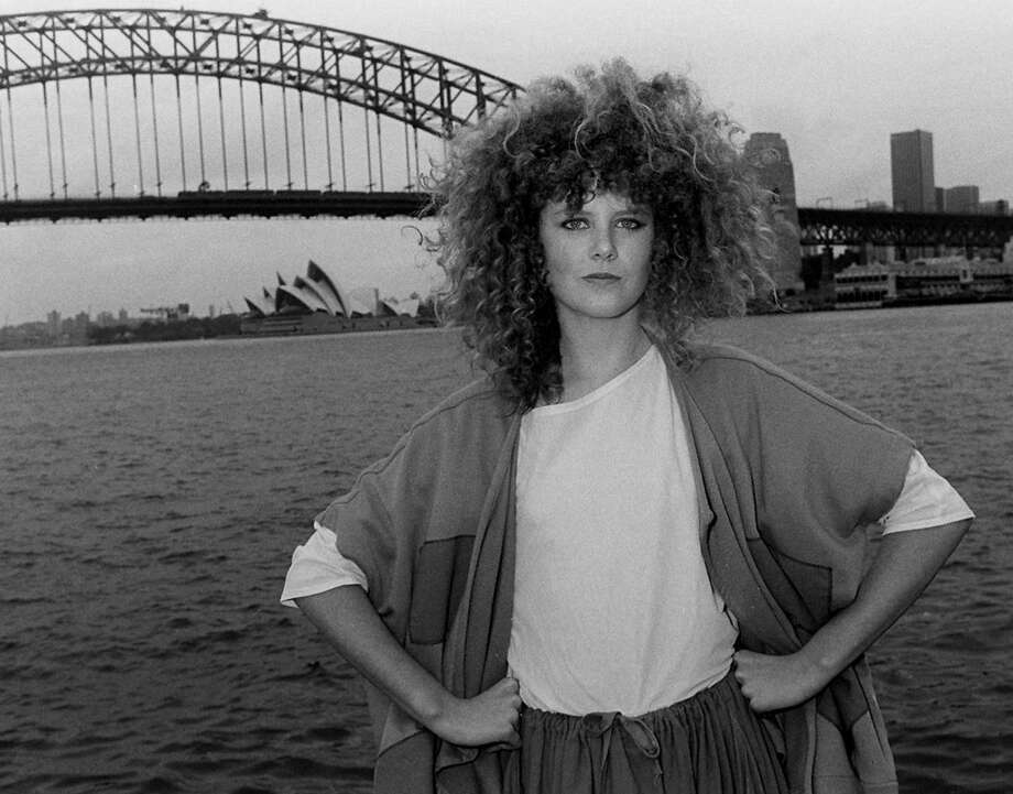 Nicole Kidman in 1983 with impressive hair. She's pictured for the movie ''BMX Bandits'' in Sydney, Australia.