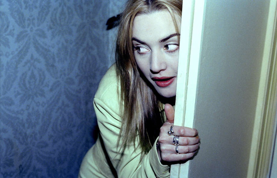 This was part of a weird photo session in 1996 with Kate Winslet popping out of closet. Photo: Ken Weingart, Getty Images / Michael Ochs Archives