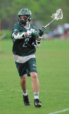 Shenendehowa's D.J. Edick runs with the ball during a lacrosse game against Niskayuna on Wednesday, May 8, 2013 in Niskayuna, N.Y. (Lori Van Buren / Times Union) Photo: Lori Van Buren / 10022293A