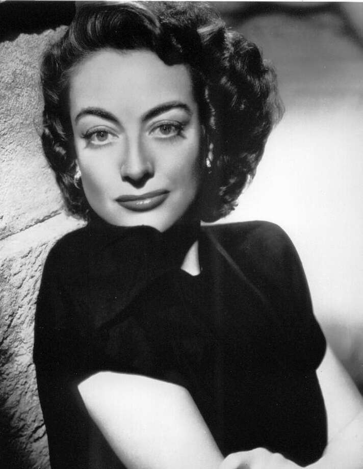 Joan Crawford, (March 23, ca. 1904 – May 10, 1977) is considered to be one of the great American actresses of the 1930s and '40s. She was born near San Antonio.  Photo: FILE PHOTO