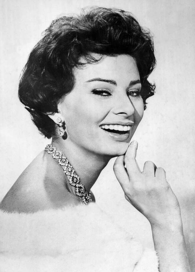 PARIS, FRANCE:  Photo taken in the 1960's of Italian actress Sophia Loren. Sophia Loren, originally Sofia Scicolone, was born 20 September 1934 in Rome, and was discovered at the age of 15 by movie producer Carlo Ponti, who later became her husband. She received the Cannes Festival Best actress prize for the film La Ciociara. AFP PHOTO (Photo credit should read AFP/AFP/Getty Images)