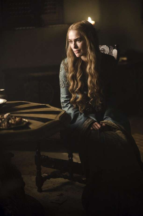 """In this undated image released by HBO, Lena Headey portrays Cersei Lannister in a scene from """"Game of Thrones."""" (AP Photo/HBO, Helen Sloan)"""
