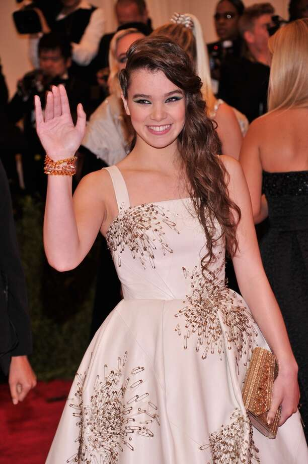 "NEW YORK, NY - MAY 06:  Hailee Steinfeld attends the Costume Institute Gala for the ""PUNK: Chaos to Couture"" exhibition at the Metropolitan Museum of Art on May 6, 2013 in New York City.  (Photo by Stephen Lovekin/FilmMagic)"