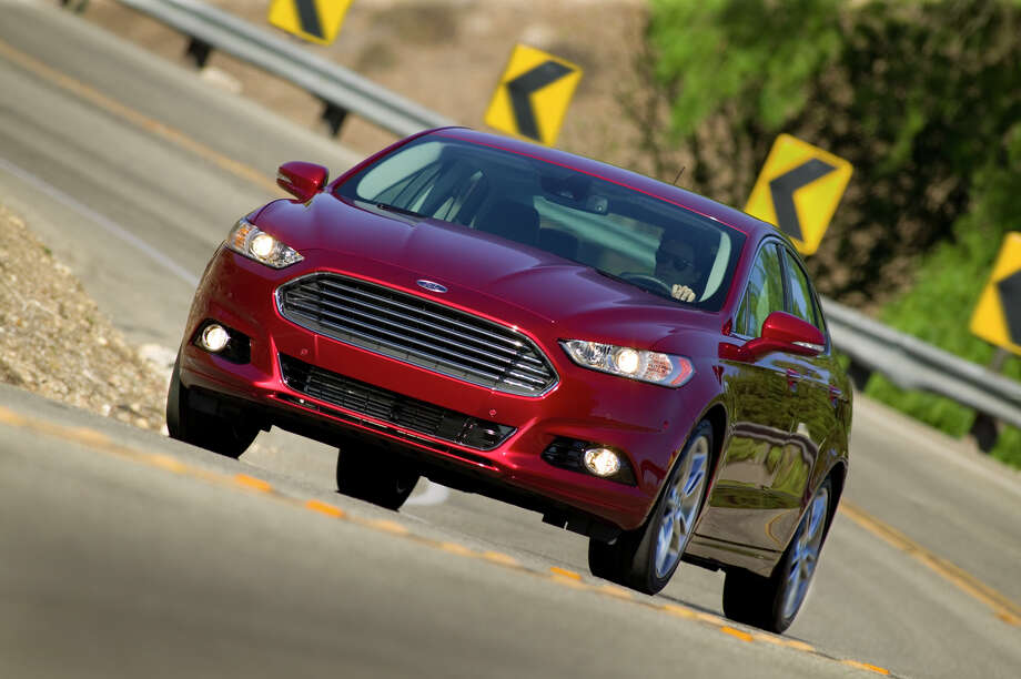 Mid-Size Car: 2013 Ford Fusion Titanium Photo: Ford, File / © 2012 Ford Motor Company