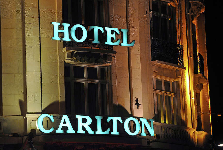 "Cartlon Cannes hotel (1994)Three masked gunmen burst into the jewelry shop at the posh Carton Cannes and sprayed machine gun fire around to intimidate the staff (they had been firing blanks), before pulling off a smash-and-grab robbery. The gang made off with $60 million in gems. Ironically, the hotel was a major location in the 1955 Hitchcock thriller, ""To Catch a Thief,"" starring Cary Grant and Grace Kelly. Photo: PHILIPPE HUGUEN, AFP/Getty Images / 2012 AFP"