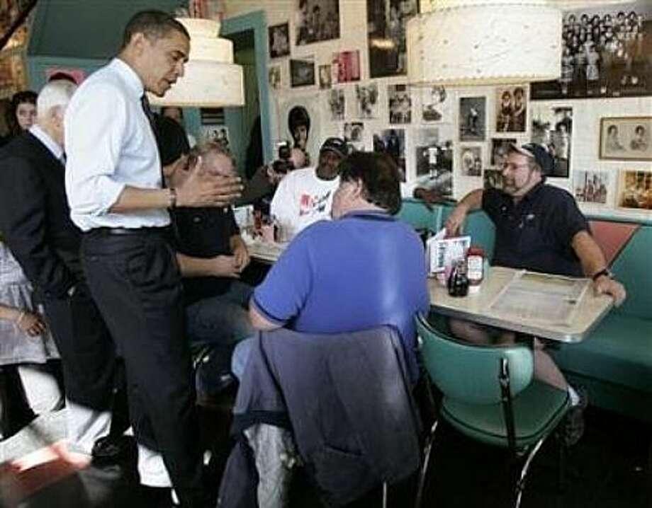 A stop at Pamela's diner.