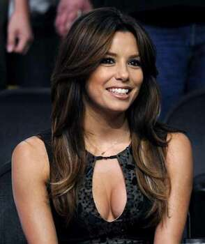 Actress Eva Longoria Parker is seen before the Los Angeles Lakers and the San Antonio Spurs play in Game 5 of the NBA Western Conference basketball finals, Thursday, May 29, 2008 in Los Angeles. Parker is married to Spurs player Tony Parker, of France. Photo: Kevork Djansezian, AP / AP