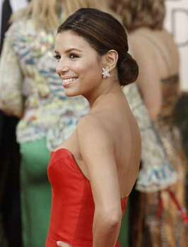 Eva Longoria Parker arrives at the 66th Annual Golden Globe Awards on Sunday, Jan. 11, 2009, in Beverly Hills, Calif. Photo: Matt Sayles, AP / AP