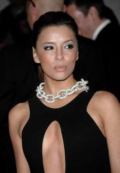 Eva Longoria Parker arrives at the Metropolitan Museum of Art's Costume Institute Gala in New York on Monday May 4, 2009. Photo: Evan Agostini, AP / AGOEV