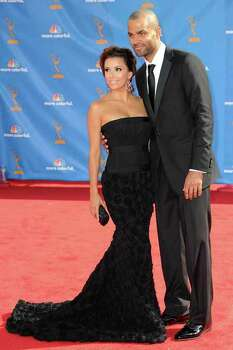 LOS ANGELES, CA - AUGUST 29:  Actress Eva Longoria Parker and NBP player Tony Parker arrive at the 62nd Annual Primetime Emmy Awards held at the Nokia Theatre L.A. Live on August 29, 2010 in Los Angeles, California.  (Photo by Frazer Harrison/Getty Images) *** Local Caption *** Eva Longoria Parker;Tony Parker Photo: Frazer Harrison, Getty Images / 2010 Getty Images
