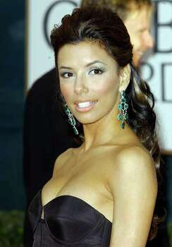 KRT ENTERTAINMENT STORY SLUGGED: GOLDENGLOBES KRT PHOTOGRAPH BY HAHN-KHAYAT/ABACA PRESS (January 16) LOS ANGELES, CA -- Eva Longoria arrives at the 62nd Annual Golden Globe Awards in Los Angeles, California, on January 16, 2005. (cdm) 2005
