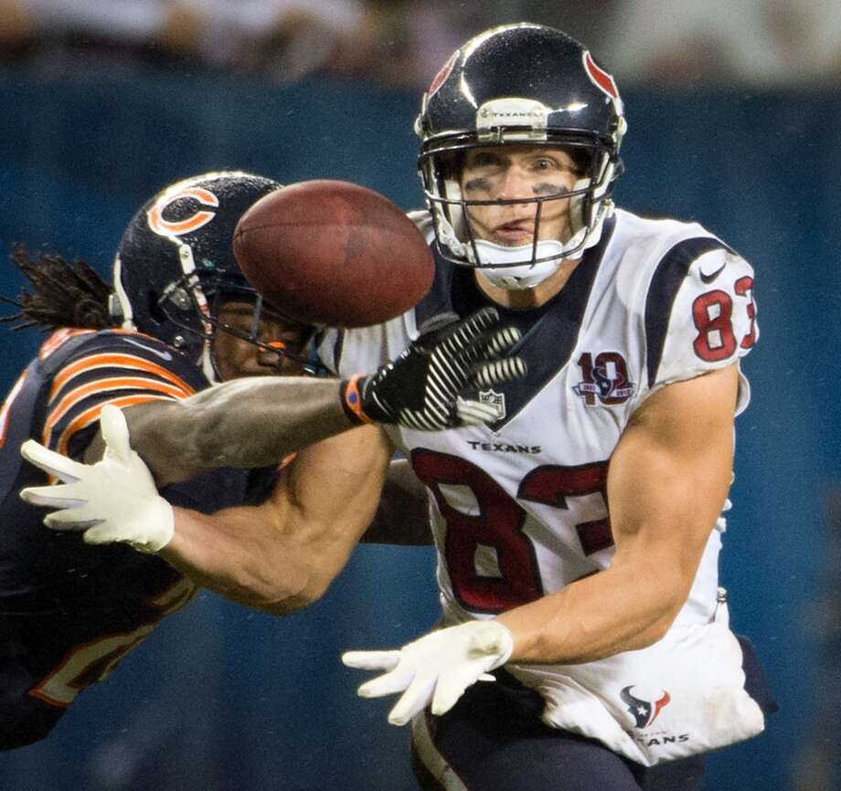 Kevin WalterA salary cap casualty, the veteran receiver signed a one-year deal with the Titans.
