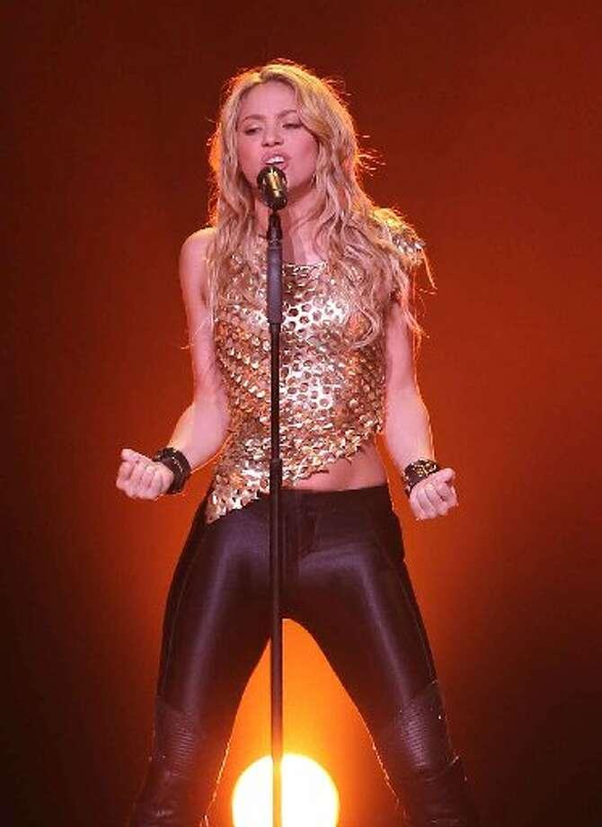 """""""She Wolf"""" by Shakira."""