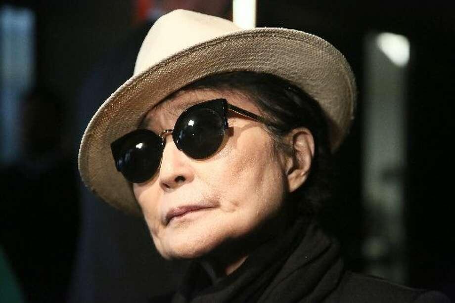 """""""Walking On Thin Ice"""" by Yoko Ono."""