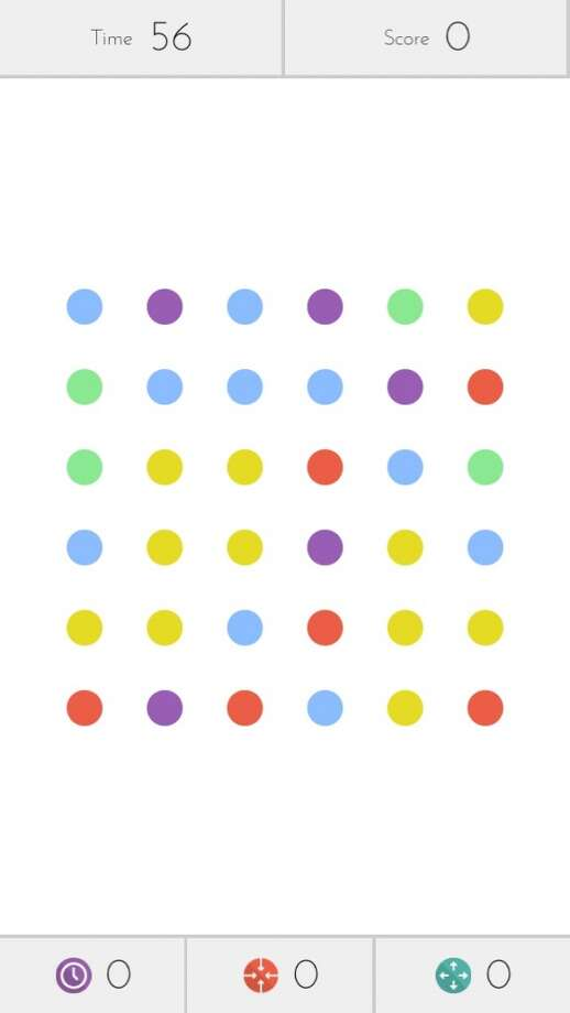 Dots. Connect the dots. iOS only.
