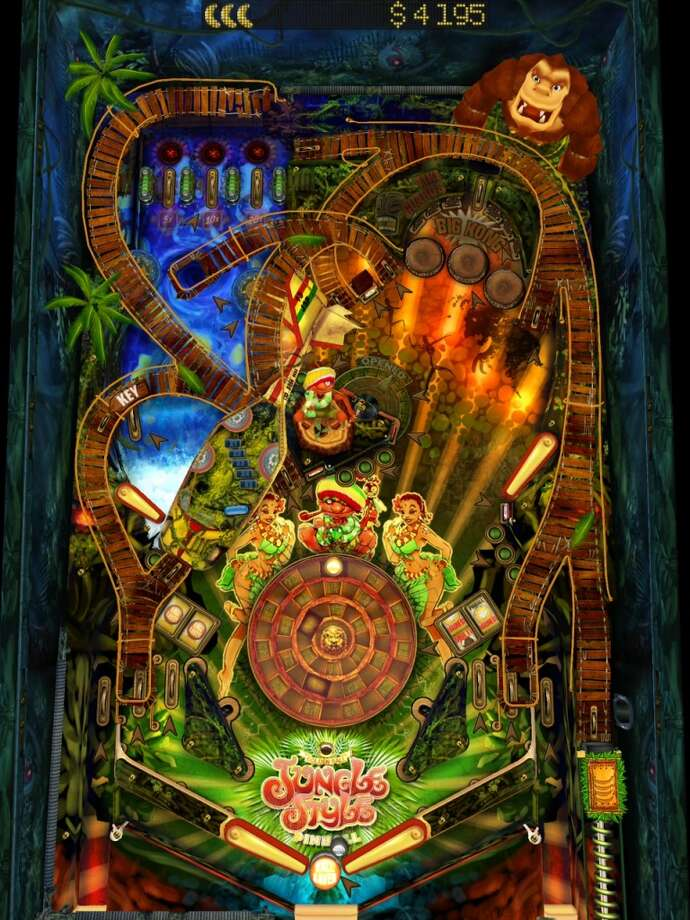 Pinball HD. Pinball in high-res graphics. For Android and iOS.