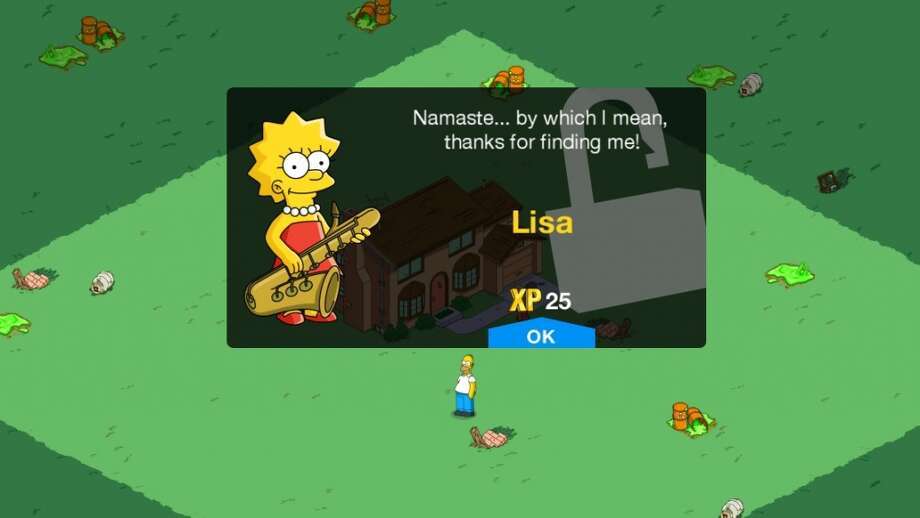 The Simpsons: Tapped Out. The Simpsons meet Sim City. For Android and iOS.