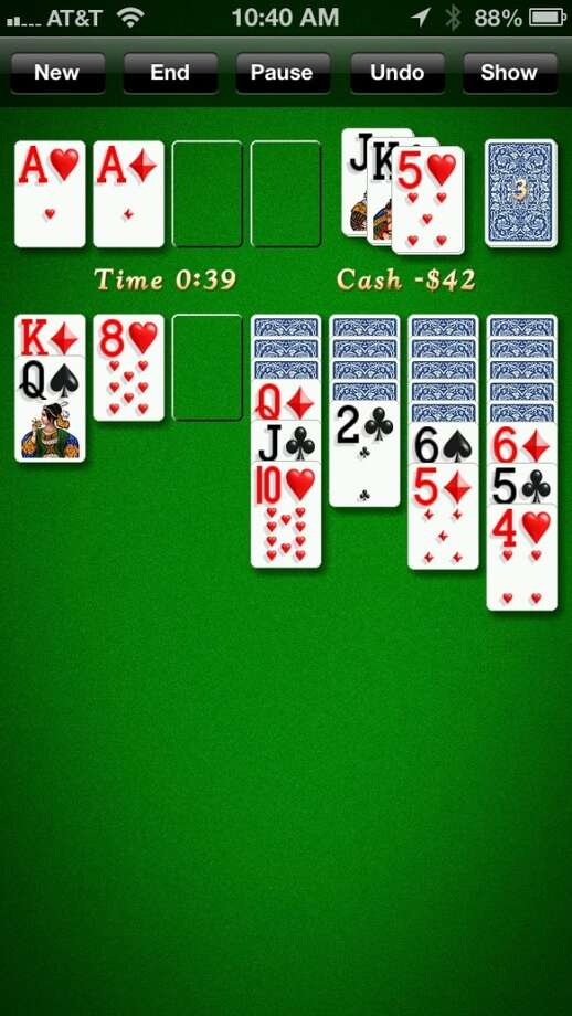 Solitaire City Classic. One of the best mobile versions of the classic card game. For Android, BlackBerry 10 and iOS.