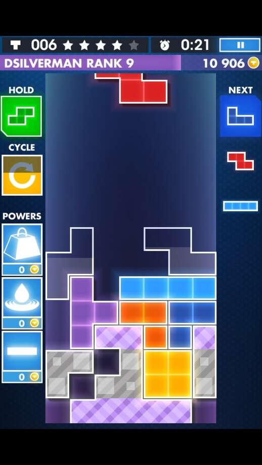 Tetris. Old-school addiction, still hard to put down. For Android, iOS and Windows Phone.