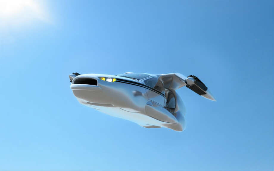 Is this the future of public transportation? A company plans to produce this flying car for the masses. Photo: Courtesy Of Terrafugia