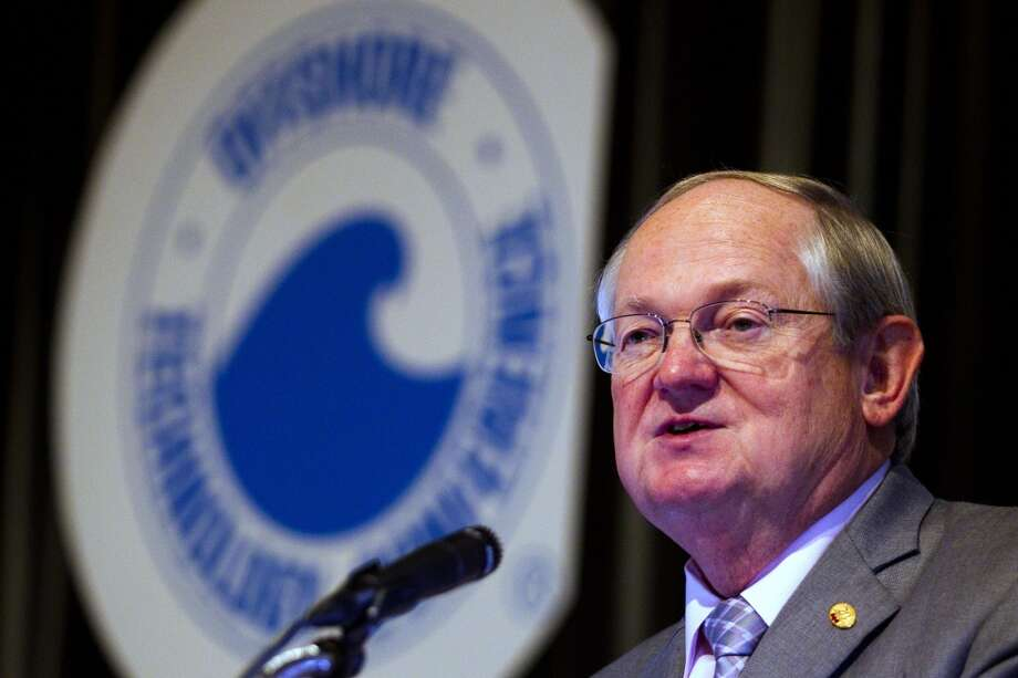 Charlie Williams, of the Offshore Safety Center, speaks at the Offshore Technology Conference May 9, 2013 in Houston. ( Brett Coomer / Houston Chronicle ) Photo: Brett Coomer, Chronicle