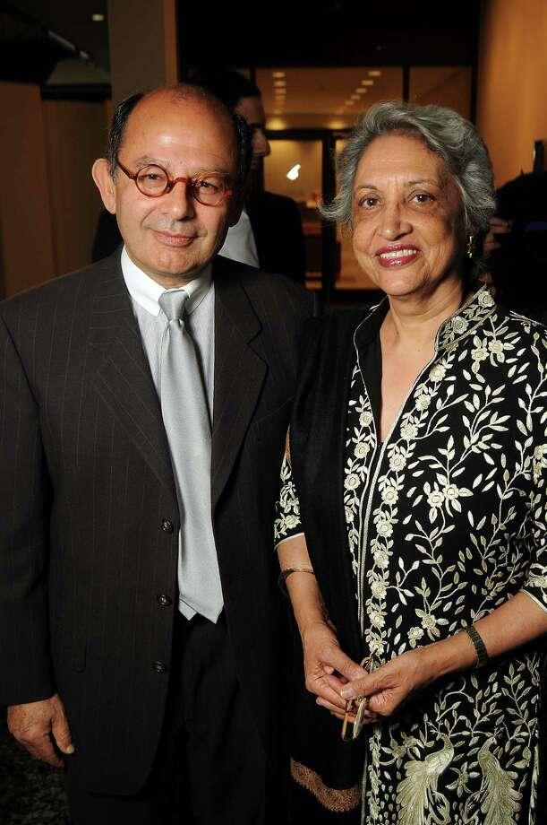 Abolala Soudavar and Mahrukh Tarapor Photo: Dave Rossman, Freelance / © 2013 Dave Rossman