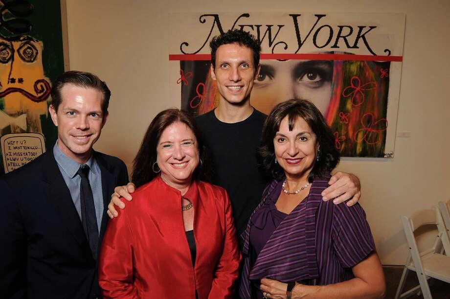 Dominic Walsh, from left, Deborah Colton, Domenico Luciano and Mady Kades Photo: Dave Rossman, Freelance / © 2013 Dave Rossman