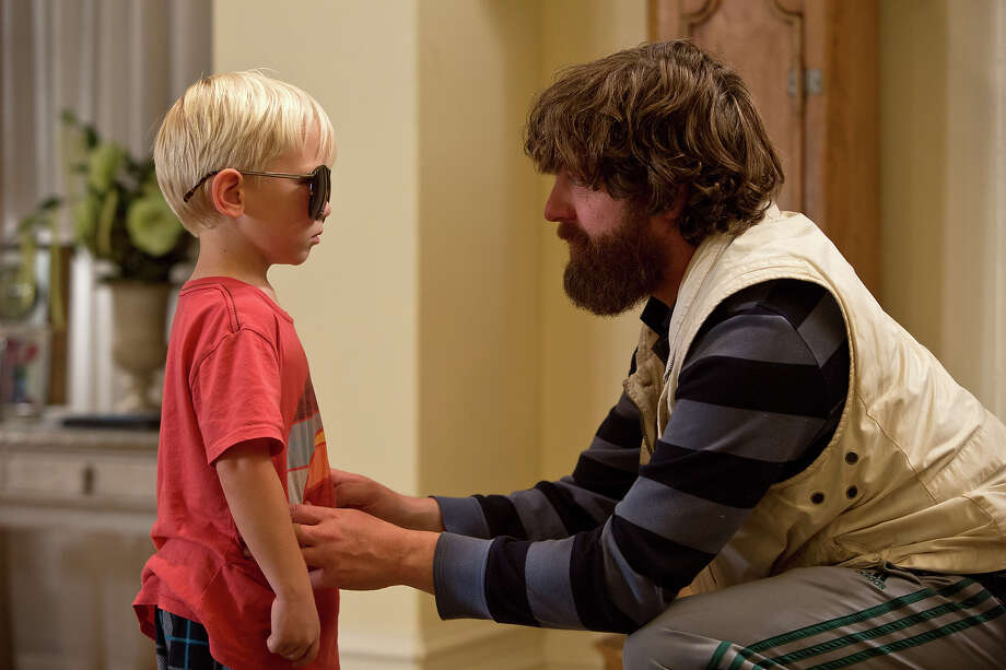 "Grant Holmquist as Tyler/Carlos and Zach Galifianakis as Alan in ""The Hangover III."" Photo: Melinda Sue Gordon, Warner Brothers / © 2013 WARNER BROS. ENTERTAINMENT INC. AND LEGENDARY PICTURES"