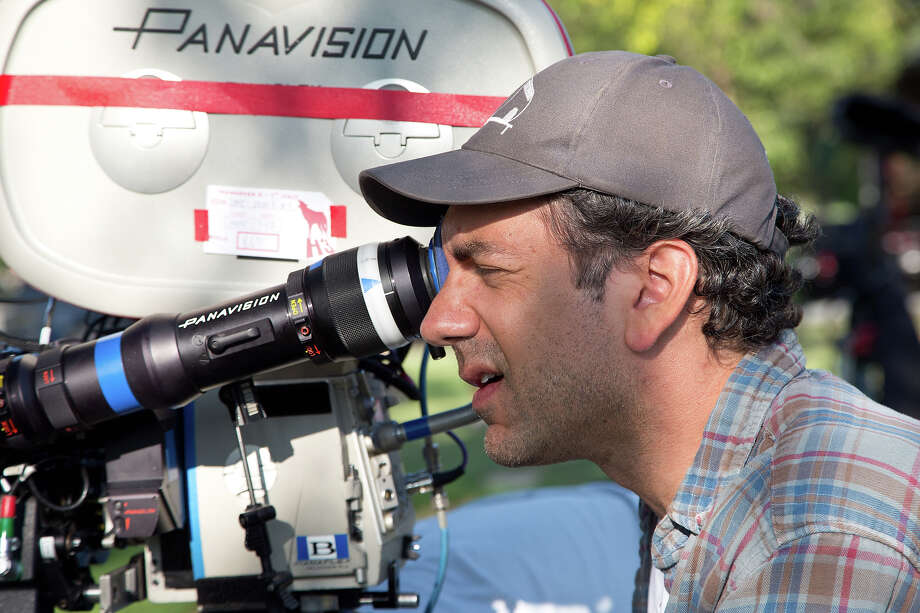 "Director Todd Phillips on the set of ""The Hangover III."" Photo: Melinda Sue Gordon, Warner Brothers / © 2013 WARNER BROS. ENTERTAINMENT INC. AND LEGENDARY PICTURES"