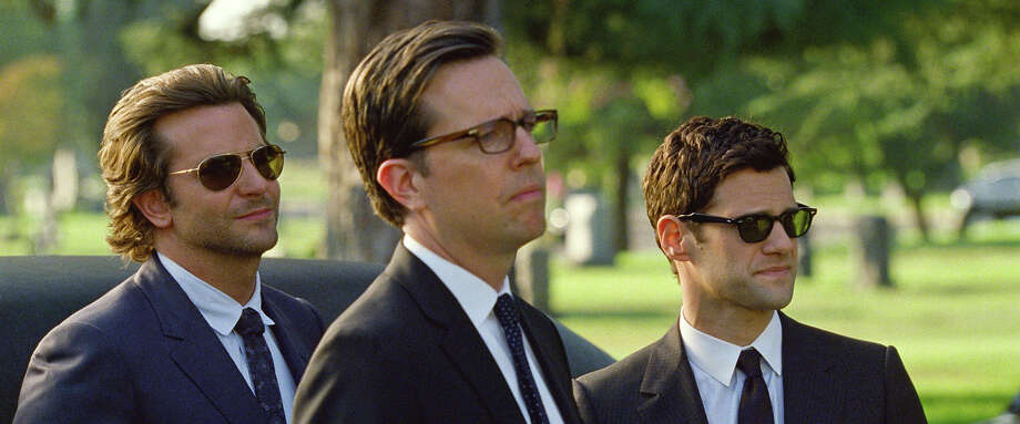 """Bradley Cooper as Phil, Ed Helms as Stu and Justin Bartha as Doug in """"The Hangover III."""" Photo: Courtesy Warner Bros. Pictures, Warner Brothers / © 2013 WARNER BROS. ENTERTAINMENT INC. AND LEGENDARY PICTURES"""