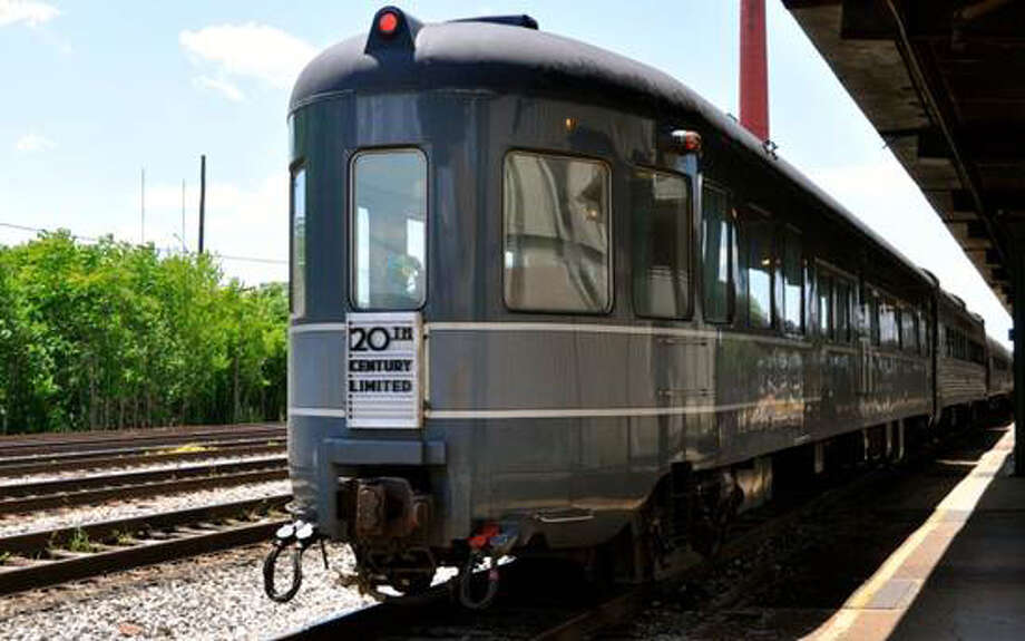 The Hickory Creek, a sleeper and observation lounge car built in 1947 for New York Central's 20th Century Limited express passenger train service, will be among more than 20 train cars featured in the Grand Centennial Parade of Trains, which will be open to the public 10 a.m. to 4 p.m., Saturday and Sunday, May 11 to 12, 2013, in Grand Central Terminal. In addition to the cars, there will be a kids activities area and memorabilia show. All events are free. Backpacks will not be allowed into the activities areas. For more information, visit http://www.grandcentralterminal.com. Photo: Contributed Photo