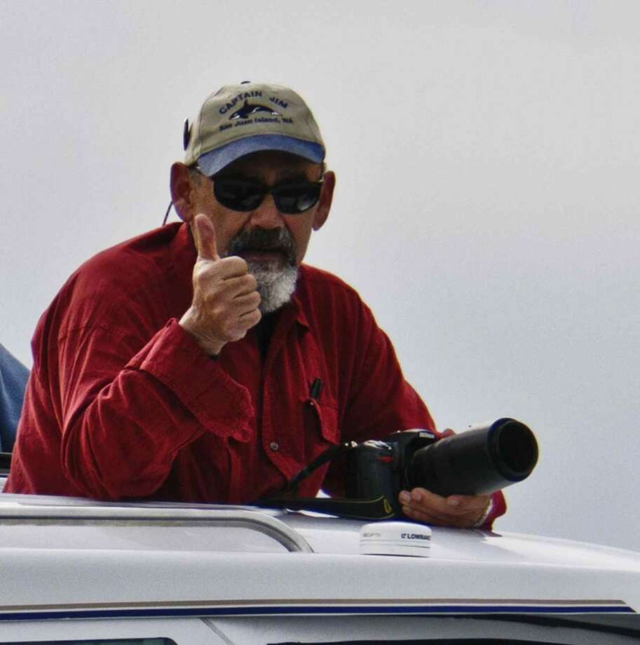 Captain Jim Maya on the job. Photo: Www.mayaswhalewatch.biz