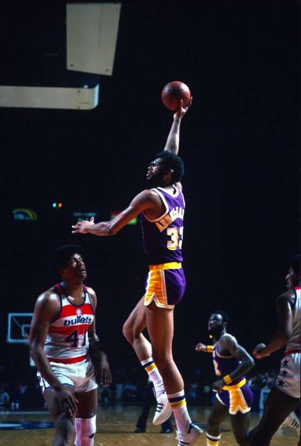 Kareem Abdul-JabbarMVPs:  1971, 1972, 1974, 1976, 1977, 1980 Age 28: 27.7 points, 16.9 rebounds Age 29: 26.2 points, 13.3 rebounds Age 30: 25.8 points, 12.9 rebounds Age 31: 23.8 points, 12.0 rebounds Career: 24.6 points, 11.2 rebounds