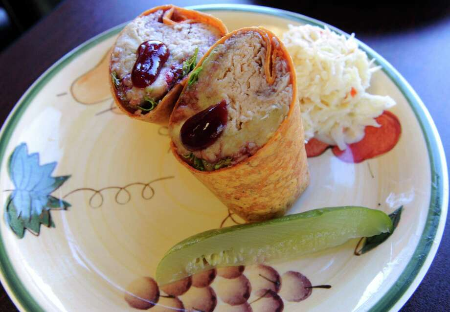 Diamond Deli Mill. 1540 Central Ave., Colonie.The Sleeper wrap with oven roasted turkey, stuffing and cranberry sauce at Diamond Deli Order Up on Friday May 3, 2013 in Colonie, N.Y. (Michael P. Farrell/Times Union) Photo: Michael P. Farrell