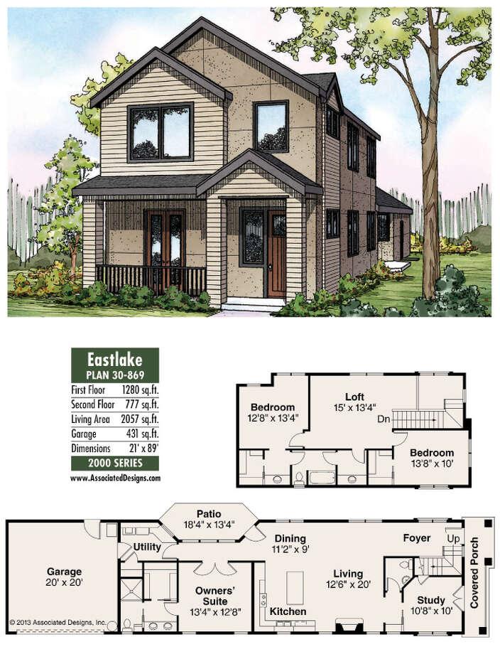 Eastlake Plan 30-869