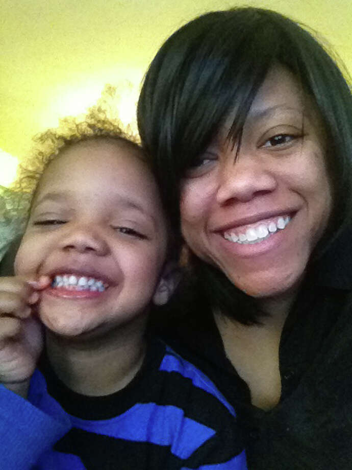 Brittany Finley and her 2-year old son, John-Michael DeVone Jr. Finley lives in Marietta, Ga. In March she traveled to Connecticut to regain custody of John-Michael from her ex-husband. Photo: Contributed Photo / Connecticut Post Contributed