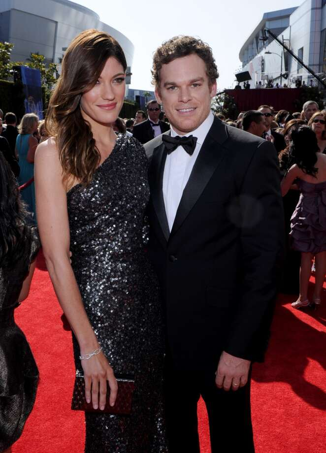 'Dexter' stars Michael C. Hall and Jennifer Carpenter had a secret  outdoors wedding in Big Sur on New Year's Eve in 2008. The couple divorced two years later.