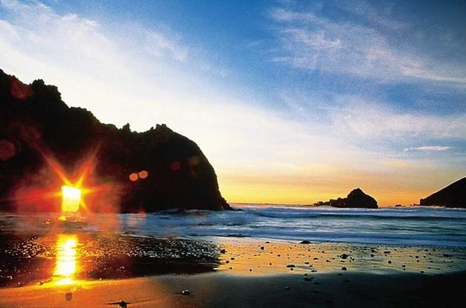 Dramatic but uncrowded scenery such as Pfeiffer Big Sur State Park makes Big Sur an attractive wedding destination.