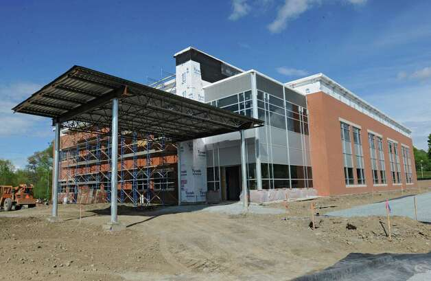 Exterior of the new Community Care Physicians Building on Thursday, May 9, 2013 in North Greenbush, N.Y.  (Lori Van Buren / Times Union) Photo: Lori Van Buren / 00022337A