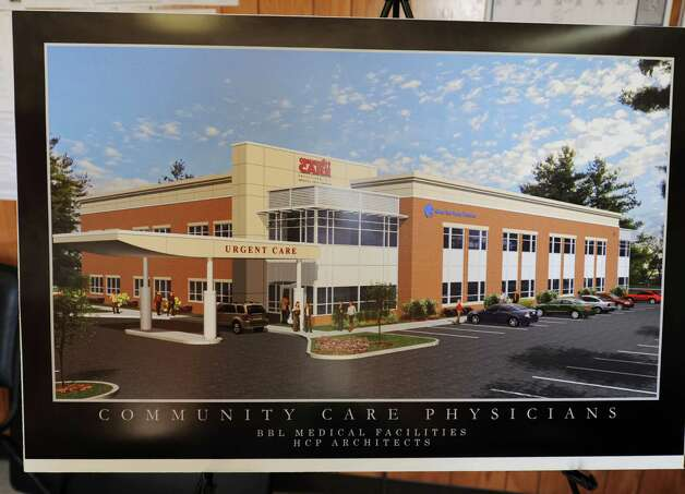 Rendering of the new Community Care Physicians Building on Thursday, May 9, 2013 in North Greenbush, N.Y.  (Lori Van Buren / Times Union) Photo: Lori Van Buren / 00022337A