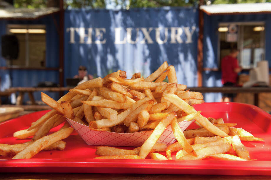 Fries from The Luxury. Photo: Robin Jerstad