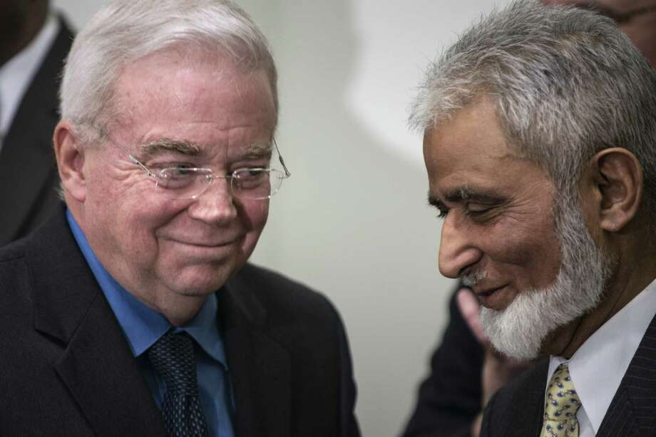 The Rev. Jim Wallis (left) encourages a commitment to the common good. Photo: File Photo, Getty Images