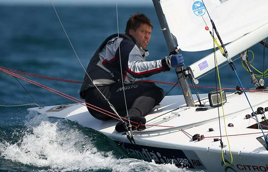 "Andrew ""Bart"" Simpson, a two-time Olympic medalist, was killed during a practice sail on May 9. Photo: Clive Mason, Getty Images"