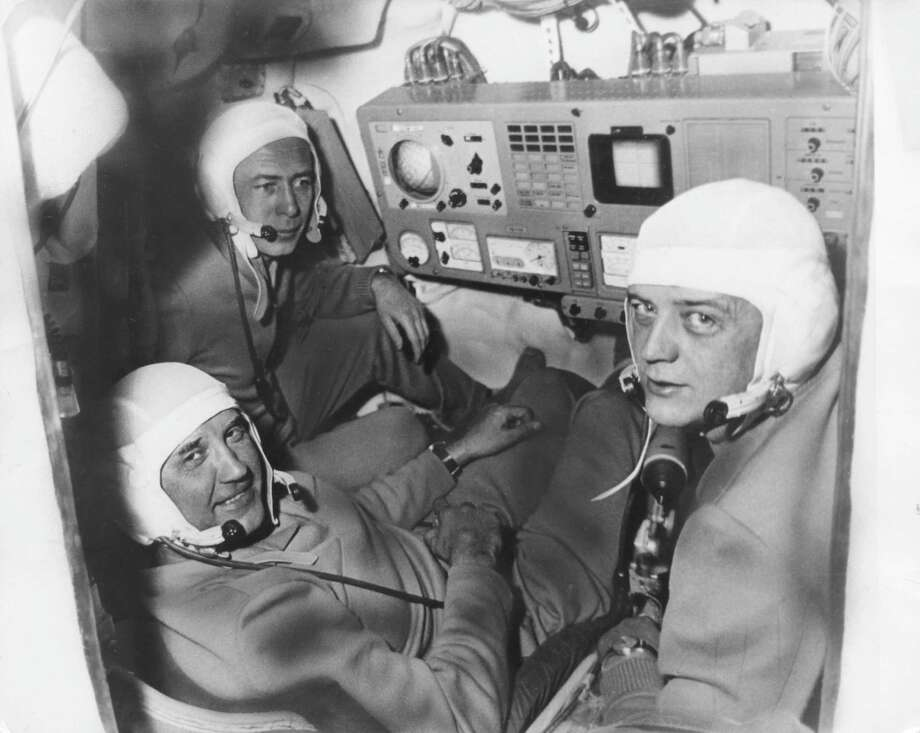 But the Soyuz 11 capsule depressurized on reentry, killing Dobrovolski, Volkov and Patsayev. Photo: Keystone, Getty Images / 2009 Getty Images