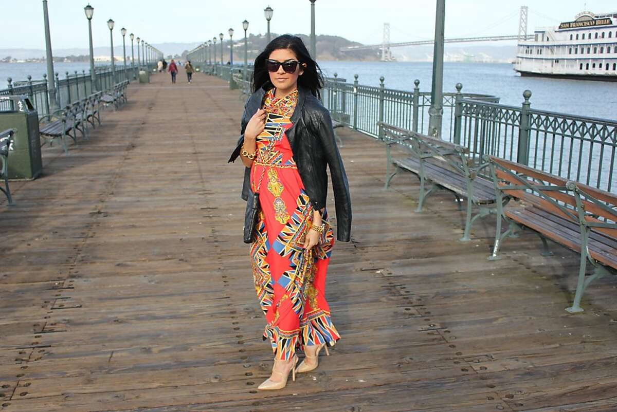 San Francisco has more fashion bloggers per capita than New York or Los Angeles. Here are some of the more prominent ones. Pictured is Lauren Maunder of This + That.