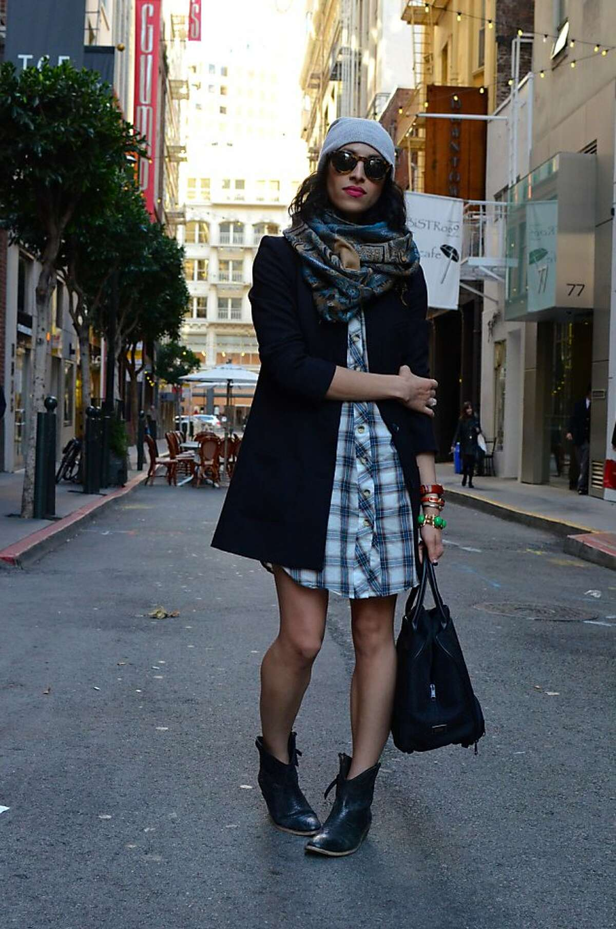 San Francisco has more fashion bloggers per capitan than New York or Los Angeles. Here are some of the more prominent ones. Pictured is Carlina Harris of Allergic to Vanilla