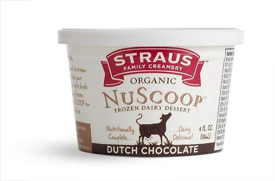 NuScoop, a frozen dairy dessert with more protein and less fat than regular ice cream Photo: Straus Family Creamery, Handout