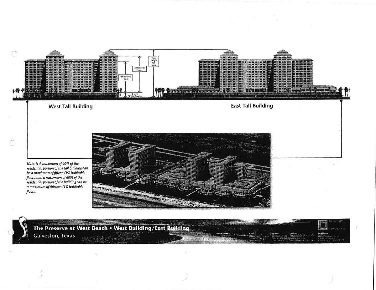 The 1,000-acre Preserve at West Beach development in Galveston.