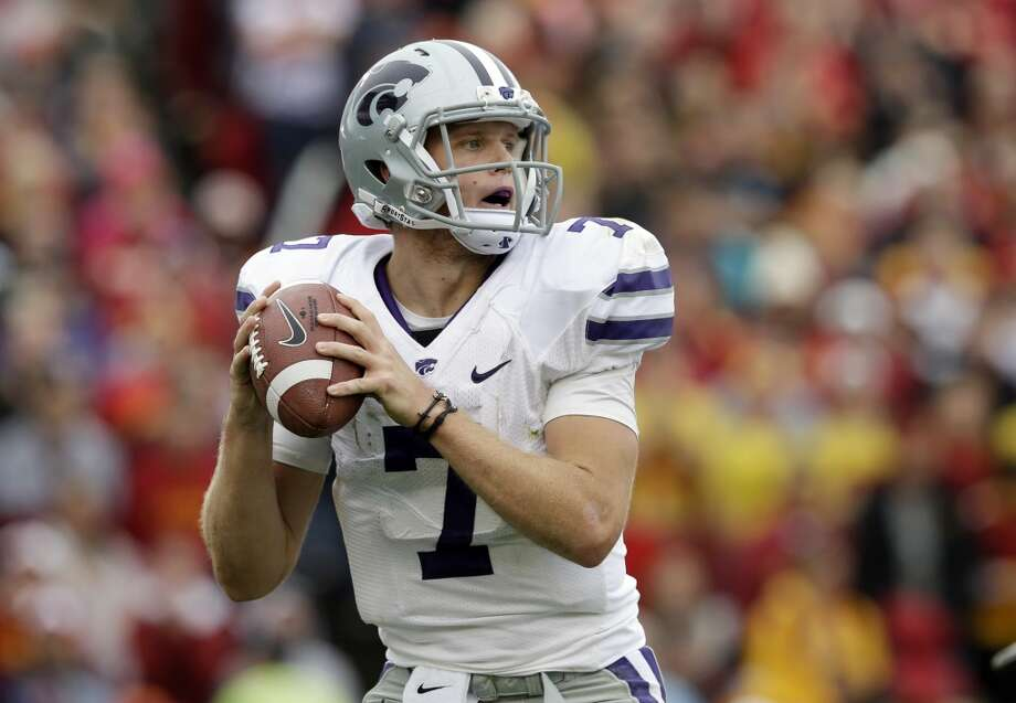 Undrafted free agent (tryout)Kansas State quarterback Collin Klein Photo: Charlie Neibergall, Associated Press